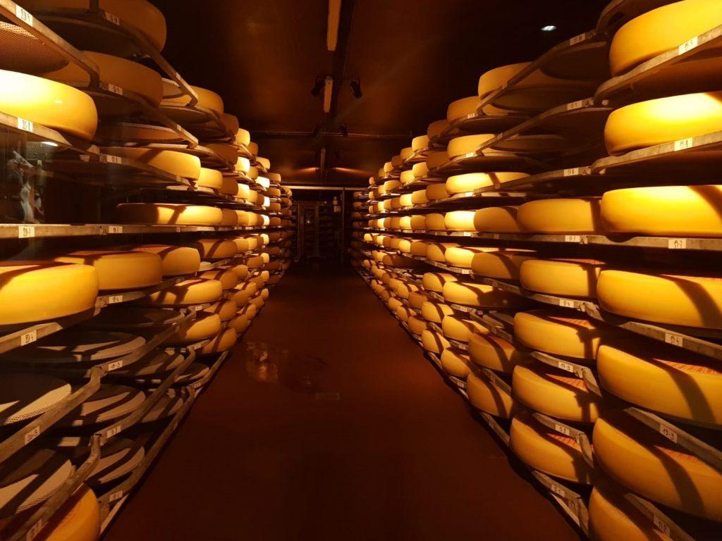 Os tradicionais produtos suíços, como o queijo Emmentaler